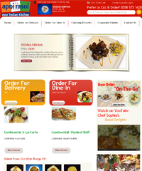 Apni Rasoi Indian Restaurant Website