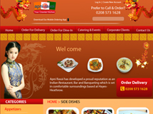 Chinese Restaurant Website Design