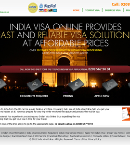 India Visa Online Visa Booking System Website